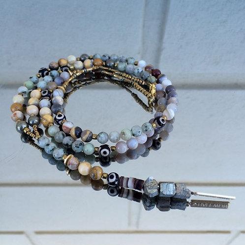 Gemstone necklace N°2