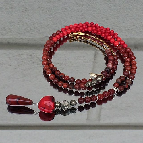 Red Delight necklace N°5