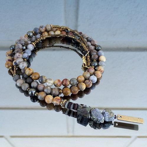 Gemstone necklace N°1