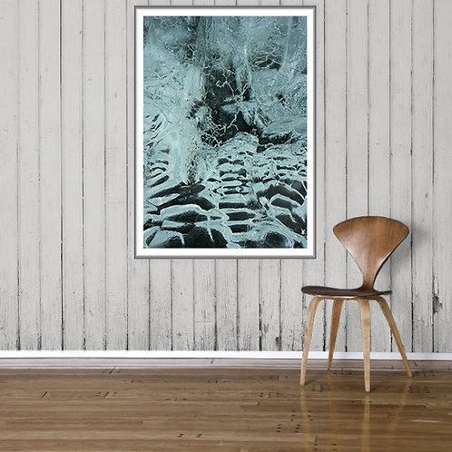 Art Poster - Jökulsárlón