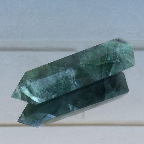 Green Fluorite wand