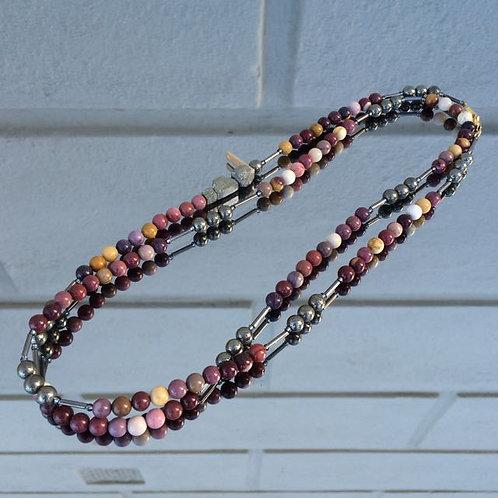 Gemstone necklace N°6
