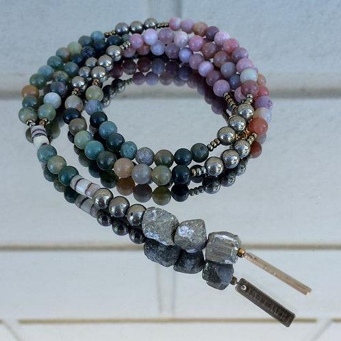 Gemstone necklace N°3