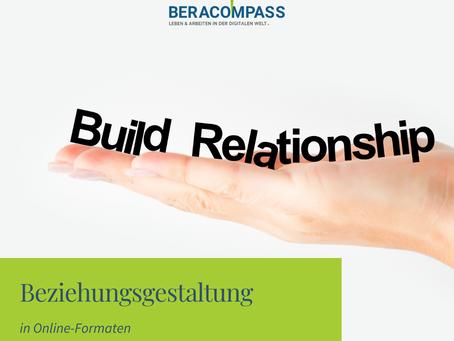 Beziehungsgestaltung in Online-Formaten