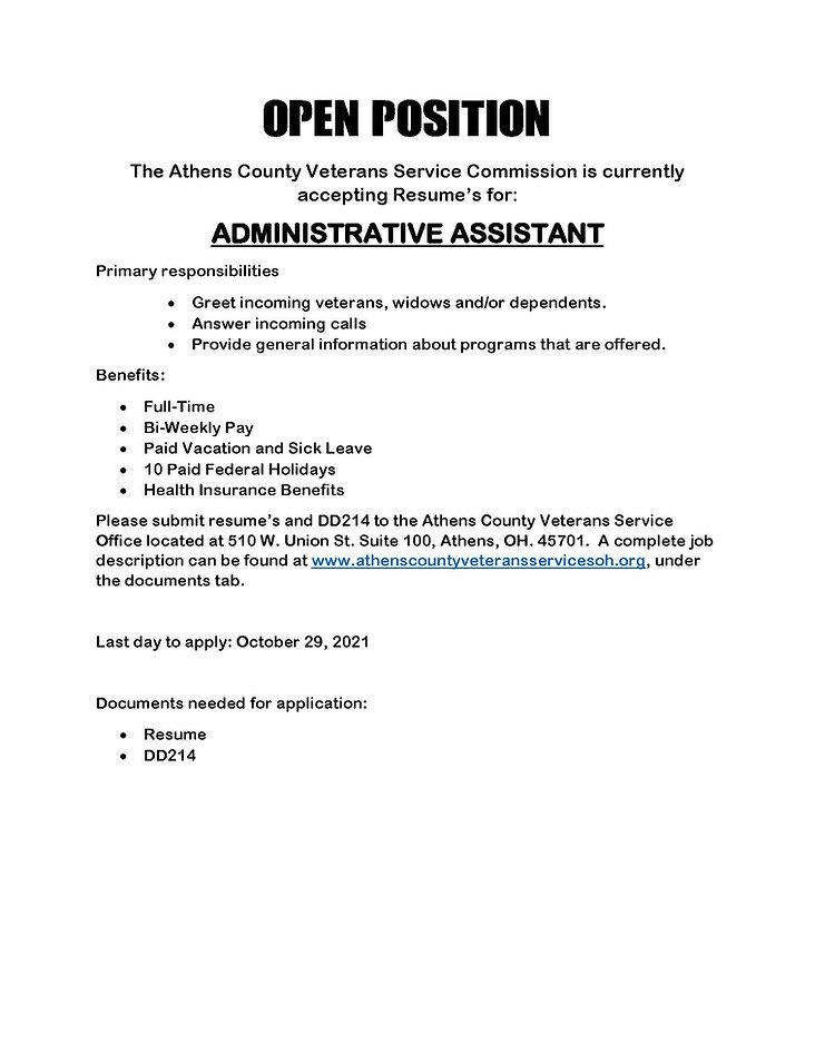 Admin Asst Job posting.jpg