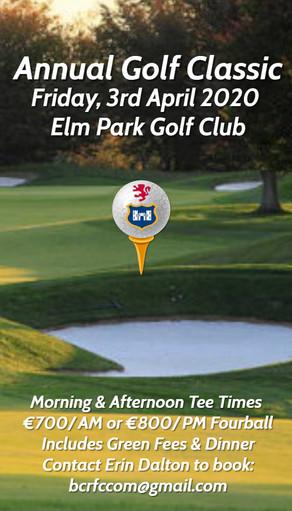 Golf Classic Postponement