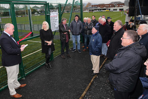 All Weather Pitch Officially Opens
