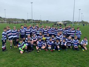 U11s at the Seapoint Rugby Festival