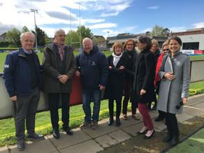 Vincennes Delegates Visit Stradbrook