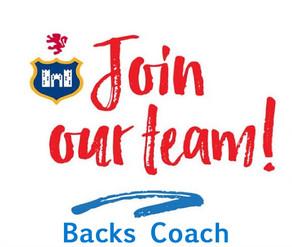 Blackrock College RFC Seeking AIL Backs Coach