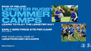 BOI Leinster Rugby Summer Camp Returns in August