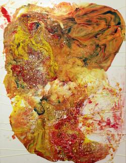 2015 Acrylic x paint powder
