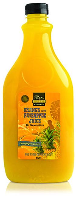farmers orange pineapple 2ltr