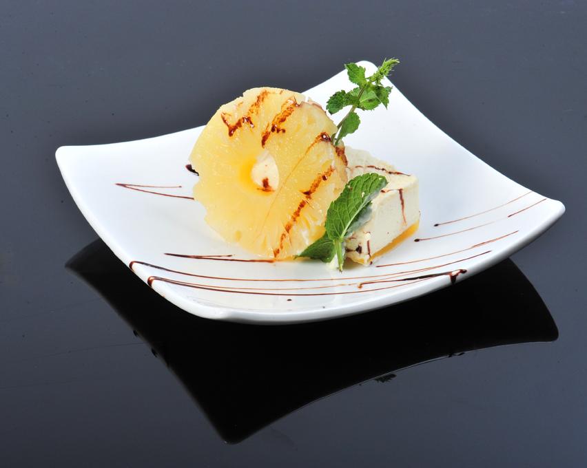 Dessert ananas