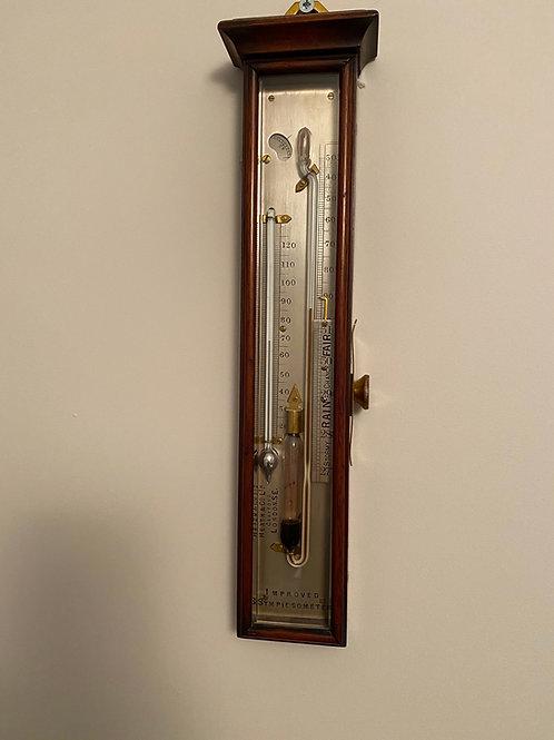 Sympiesometer by Heath & Co, London