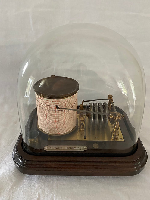 Unusual Barograph with Dome
