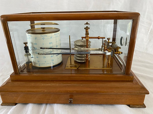 Combined Barograph and Thermograph by Harrods