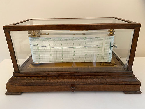 Negretti & Zambra Jordan Pattern Two - Week Recording Barograph
