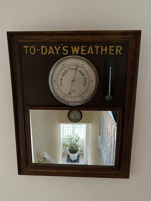 Guest House Hall Barometer