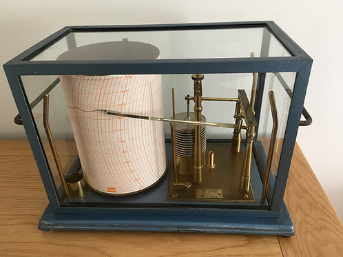 Negretti and Zambra Open Scale Barograph