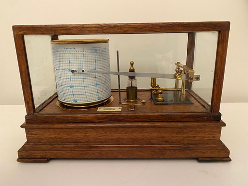 Barograph by Bailey, Birmingham