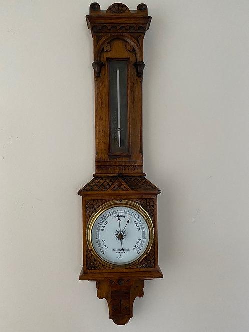 Negretti & Zambra Hall Barometer