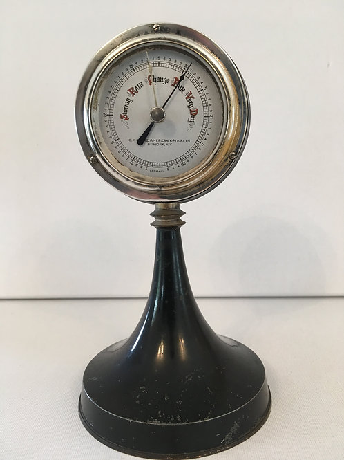 Goerz Table Top Barometer and Thermometer