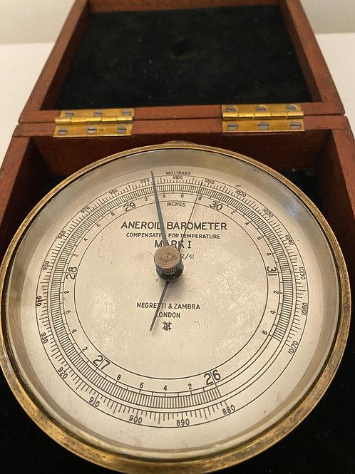 WW2 Negretti & Zambra Field Barometer