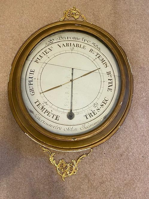 Eighteenth Century French Louis XVI Barometer