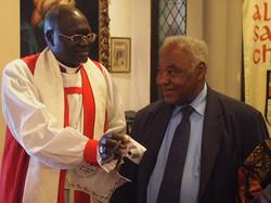 Visiting Bishop and warden
