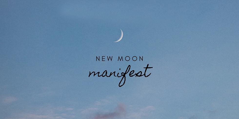 new moon // new decade ~ manifesting circle