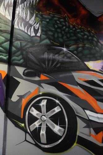 Godzilla, Graffiti, Graffiti Artist, Street Artist, Sydney
