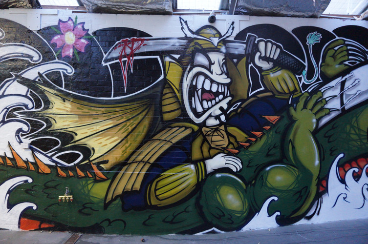 Samurai Graffiti, Graffiti Artist Sydney, Japanese Grafffiti
