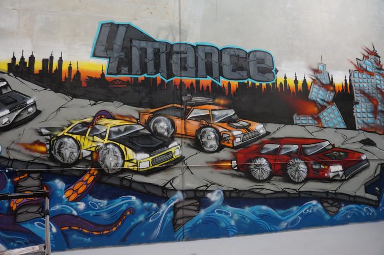 Octopus graffiti, Graffiti Artit, Sydney, Car Graffiti, Street Art