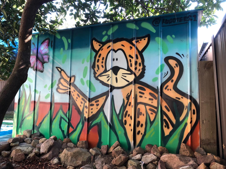 Graffiti, Cheetah, Art, Hugo Tees