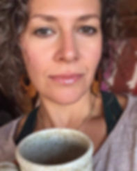 Shaon Bailey Doula drinking coffee