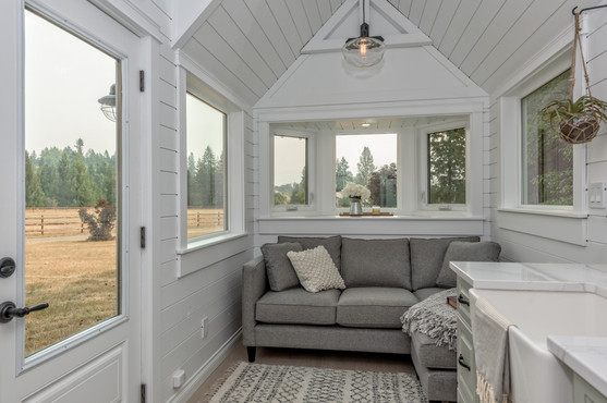 Summit Tiny Homes (The Heritage) Living Room