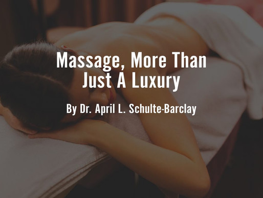 Massage Is More Than A Luxury