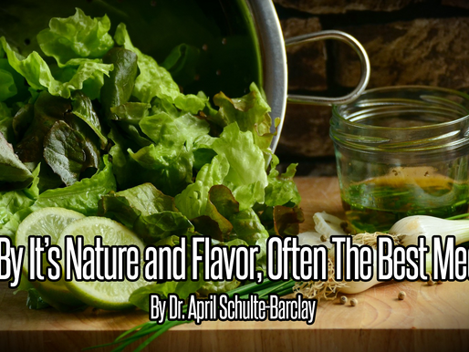 Food, by its nature and flavor, often the best medicine (Featured Article)