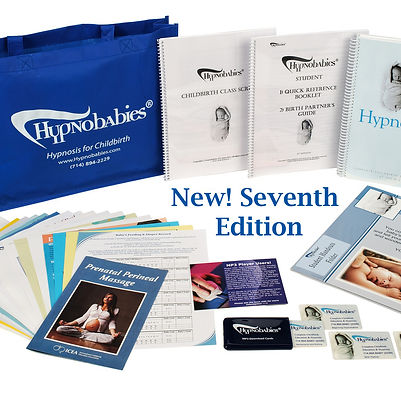 Hypnobabies Childbirth Hypnosis Seventh Edition Materials