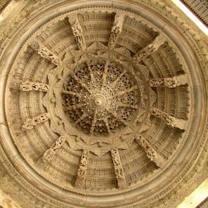 Marble Carved Like Lace - Ranakpur Jain Temple - India