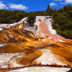 New Zealand's Orakei Korako Thermal Park. An Assault on the Senses