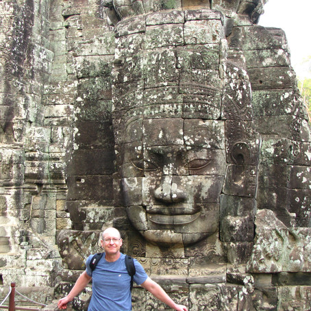 Angkor Thom - The Hall of Faces
