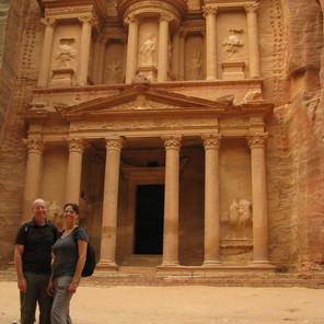 Breakfast in Petra