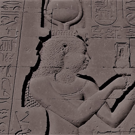 The Only Carved Image of Cleopatra - Dendera Temple