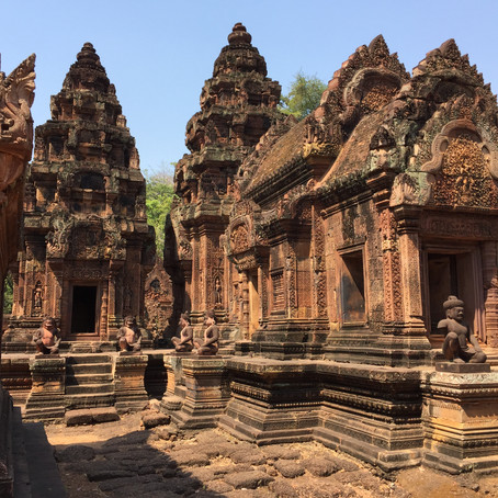 Ruins Restored - Cambodia's Banteay Srei in Full Glory