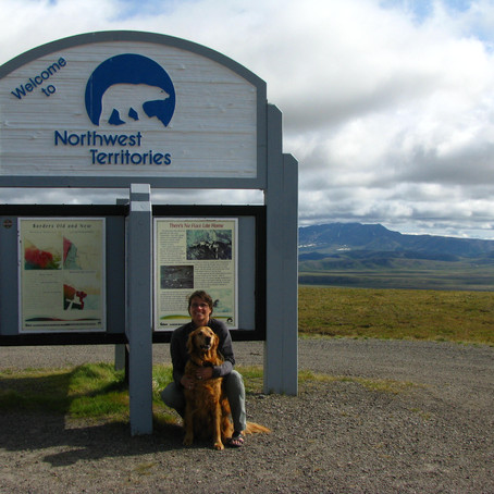 Battling the Dempster Highway to Inuvik