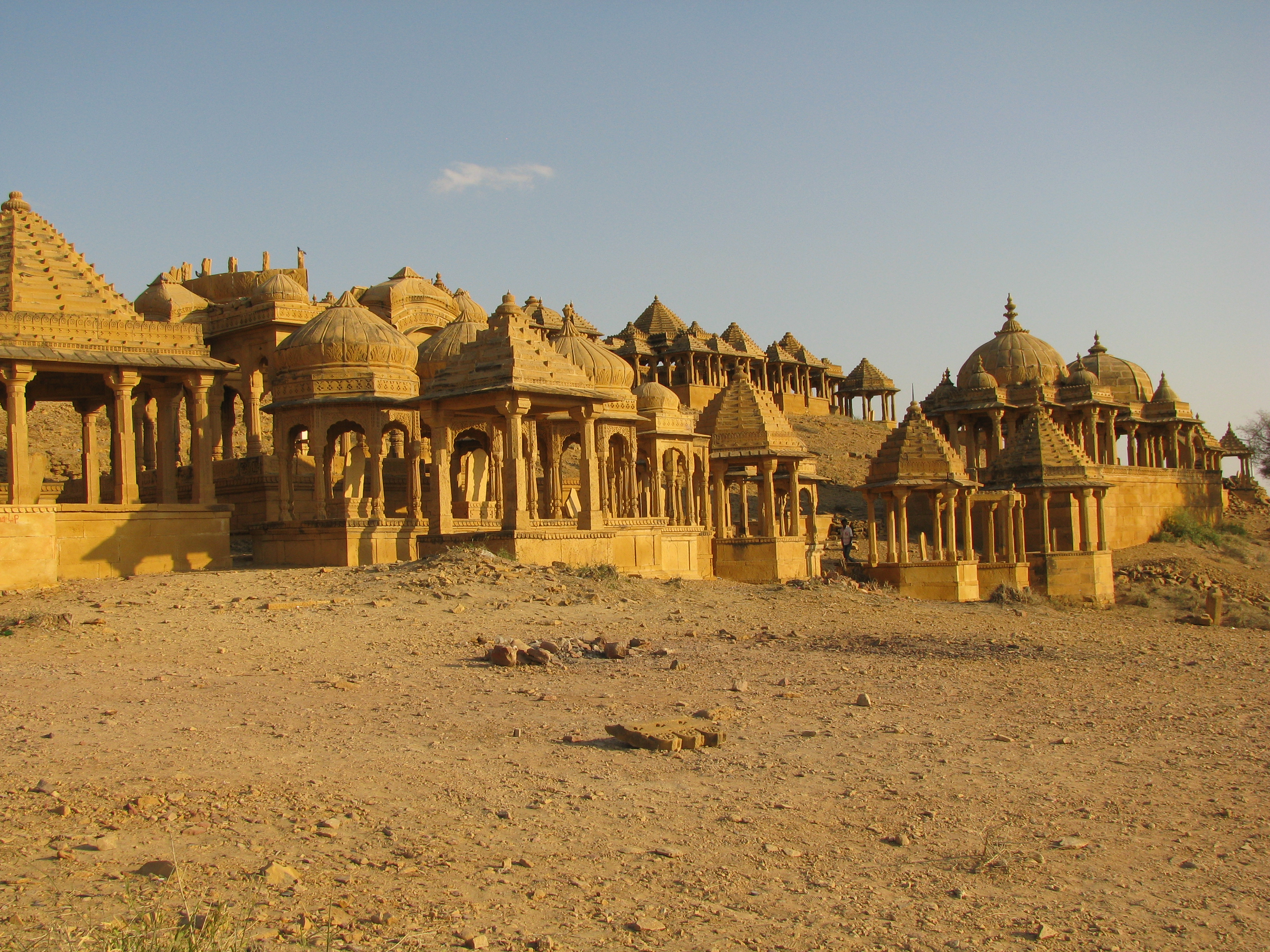 Bada Bagh Tombs