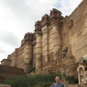 The Most Impressive Castle Yet - Mehrangarth in Jodhpur, India