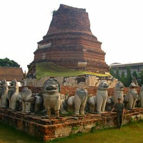 Kingdom of Siam - Ayutthaya Ruins